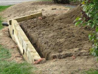 Retaining Wall Layup