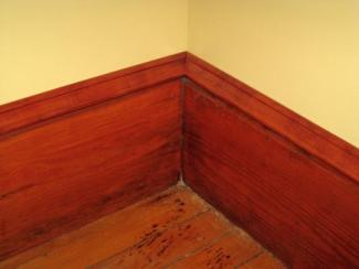 Baseboard with cap