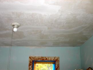 Patched Ceiling