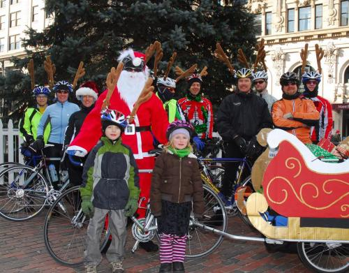 Cycling Reindeer